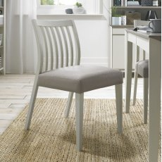 Bentley Designs Bergen Low Slat Back Dining Chairs