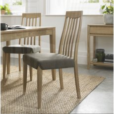 Bentley Designs Bergen Slat Back Dining Chairs