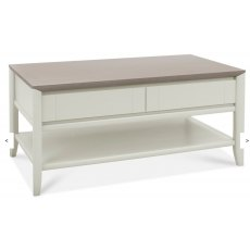 Bentley Designs Bergen Coffee Table With Drawer