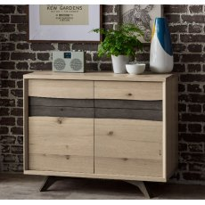 Bentley Designs Cadell Aged Oak Narrow Sideboard