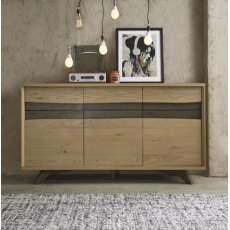 Bentley Designs Cadell Aged Oak Wide Sideboard