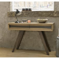 Bentley Designs Cadell Aged Oak Console Table With Drawers