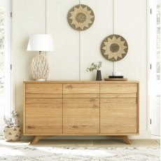Bentley Designs Cadell Rustic Oak Wide Sideboard