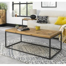 Bentley Designs Indus Rustic Oak Coffee Table