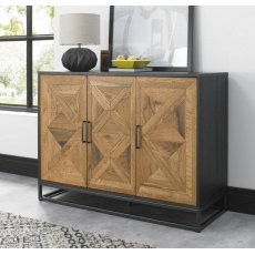 Bentley Designs Indus Rustic Oak Narrow Sideboard