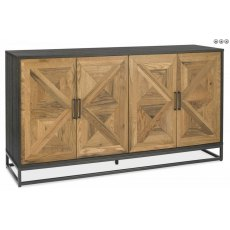 Bentley Designs Indus Rustic Oak Wide Sideboard