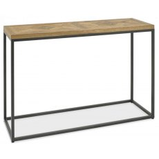 Bentley Designs Indus Rustic Oak Console Table
