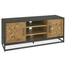 Bentley Designs Indus Rustic Oak Entertainment Unit