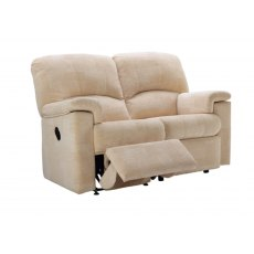 G Plan Chadwick 2 Seater One Side Manual Reclining Sofa