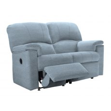 G Plan Chloe 2 Seater One Side Manual Reclining Sofa