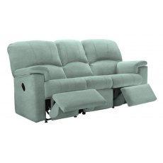 G Plan Chloe 3 Seater Double Powered Reclining Sofa