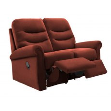 G Plan Holmes 2 Seater Double Manual Reclining Sofa