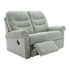 G Plan Holmes 2 Seater One Side Manual Reclining Sofa