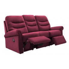 G Plan Holmes 3 Seater Double Manual Reclining Sofa