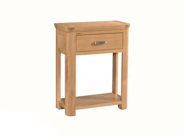 Annaghmore Annaghmore Treviso Solid Oak Small Console Table