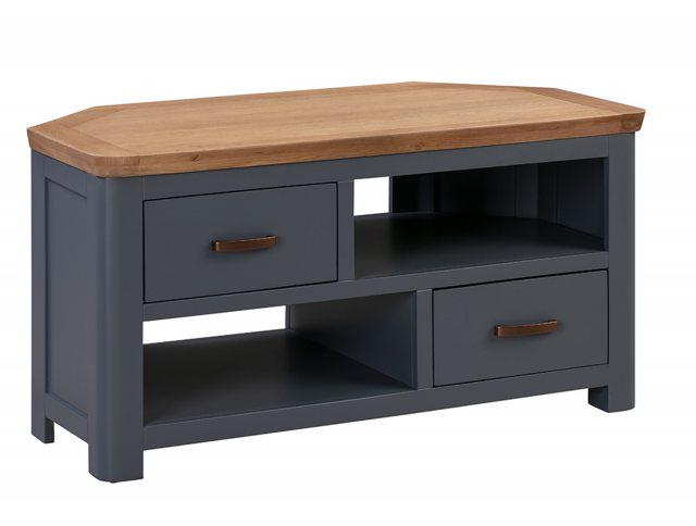 Annaghmore Annaghmore Treviso Midnight Blue Corner TV Unit