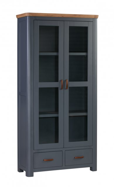 Annaghmore Annaghmore Treviso Midnight Blue Display Cabinet