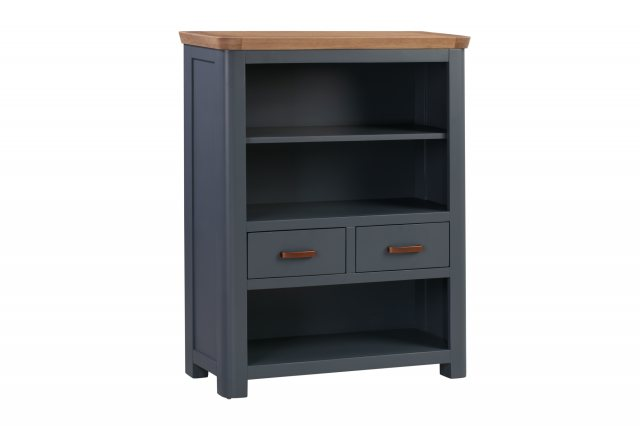 Annaghmore Annaghmore Treviso Midnight Blue Low Bookcase