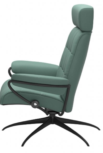 Stressless London Star Base Chair With Adjustable Head Rest Recliners Hafren Furnishers