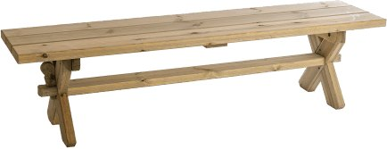 Alexander Rose Alexander Rose Pine Farmers Bench 6ft