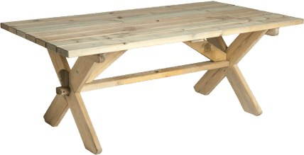 Alexander Rose Alexander Rose Pine Farmers Table 1.9m x 1.0m