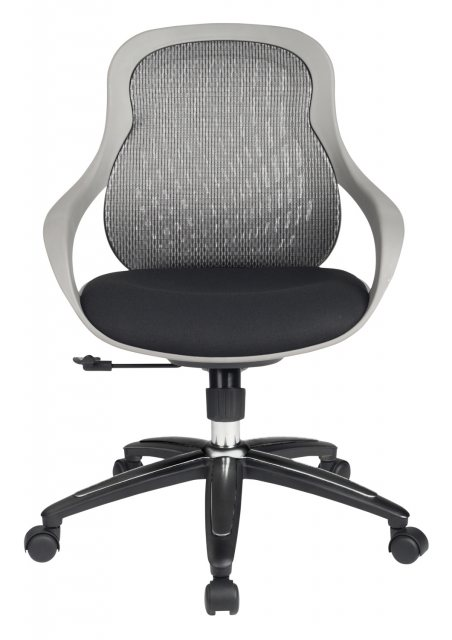Alphason Alphason Office Chairs Croft Grey Back Designer Mesh Chair