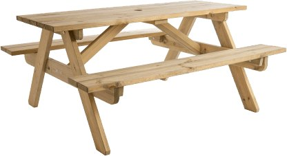 Alexander Rose Alexander Rose Pine Childrens Picnic Table