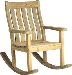 Alexander Rose Alexander Rose Pine Farmers Rocking Chair