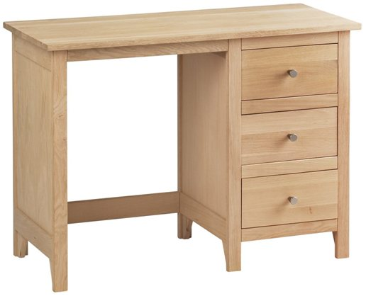 Corndell Corndell Nimbus Single Pedestal Dressing Table