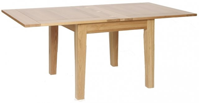 Devonshire Living Devonshire Living: New Oak: Flip Top Extending Table