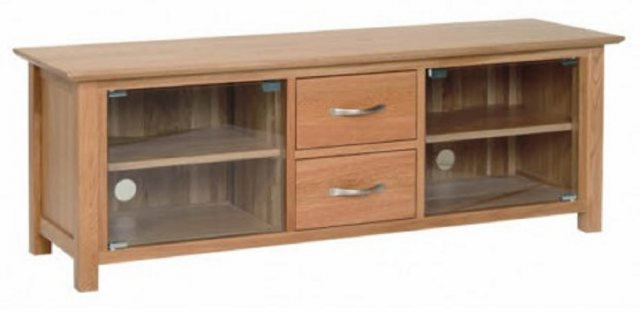 Devonshire Living Devonshire Living: New Oak: Large TV Unit