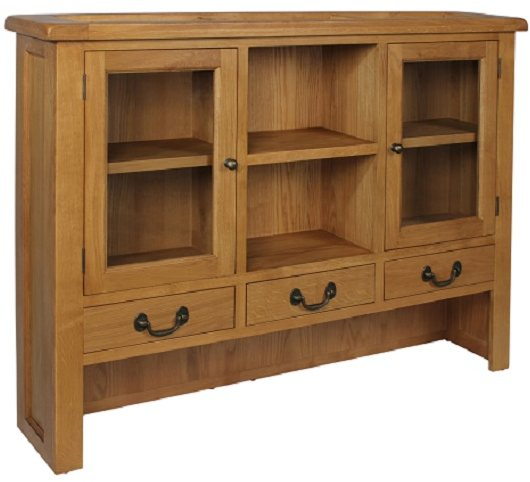 Devonshire Living Devonshire Living: Somerset Oak: Large Dresser Top