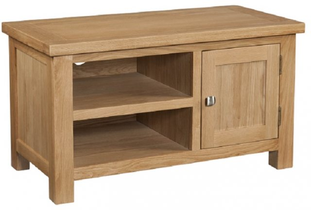 Devonshire Living Devonshire Living: Dorset Oak: Standard TV Unit