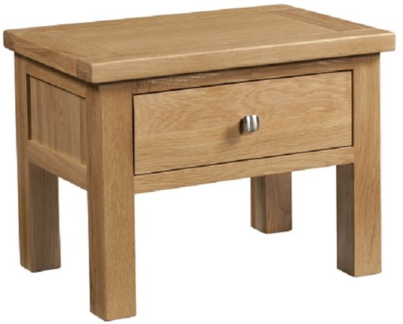 Devonshire Living Devonshire Living: Dorset Oak: Side Table With Drawer