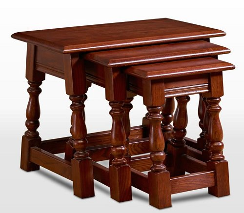 Wood Brothers Wood Bros Old Charm Nest Of Tables