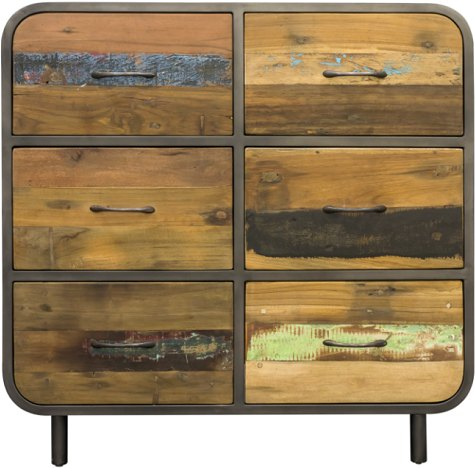 Bluebone Bluebone Titanic Retro 6 Draw Chest