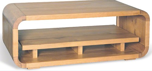 Bluebone Bluebone Lounge Oak Coffee Table With Shelf