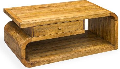 Bluebone Mango Lounge Coffee Table With Drawer
