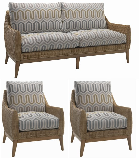 Desser Desser Camden 3 Seater 3pc Suite (3str & 2 chairs)