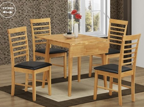 Annaghmore Annaghmore Hanover Light Square drop Leaf Dining Set
