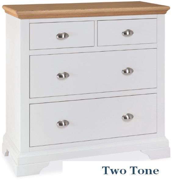 Bentley Designs Bentley Design Hampstead 2 Over 2 Chest Of Drawers