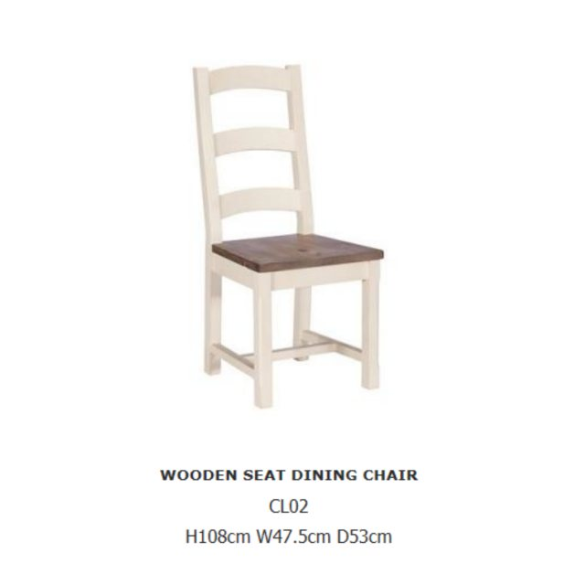 Baker Furniture Baker Furniture Cotswold Wooden Dining Chair