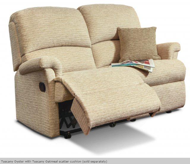 Sherborne Upholstery Nevada Reclining 2 Seat Sofa Sofas