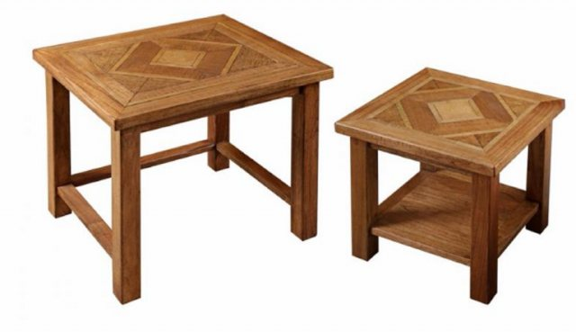 Carlton Carlton Furniture Manor Welbeck Nest Of Tables