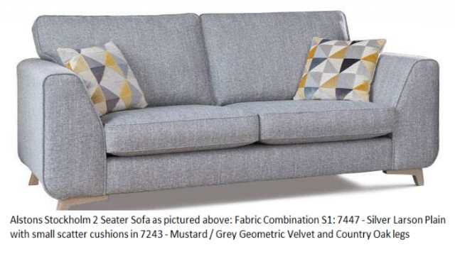 Alstons Alstons Stockholm 2 Seater Sofa