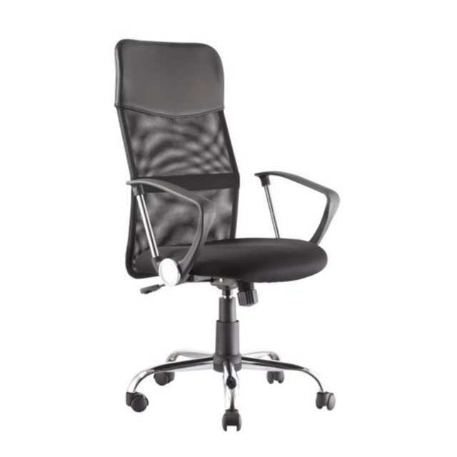 Alphason Alphason Office Chairs Orlando Black Mesh Chair