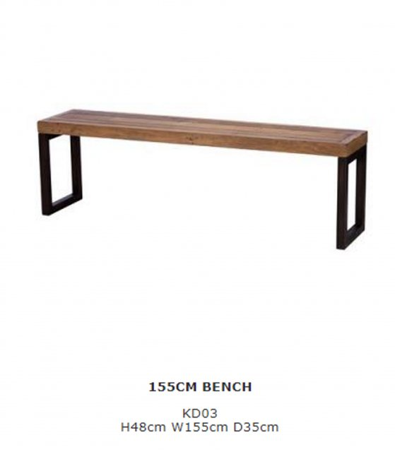 Baker Furniture Baker Furniture Nixon 150cm Bench