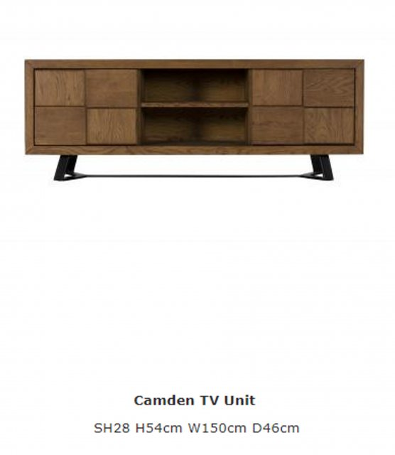 Baker Furniture Baker Furniture Soho Camden TV Unit
