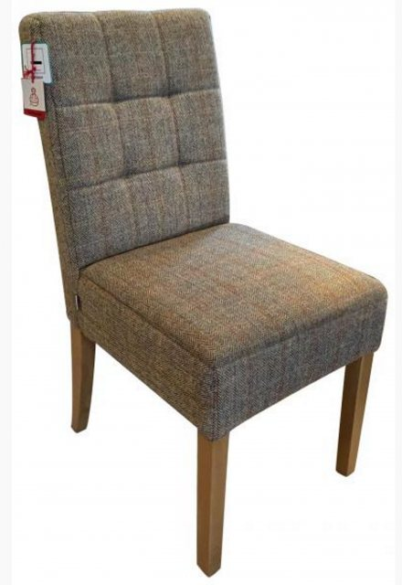 Carlton Carlton Furniture Additions Dining Chair Colin in Harris Tweed