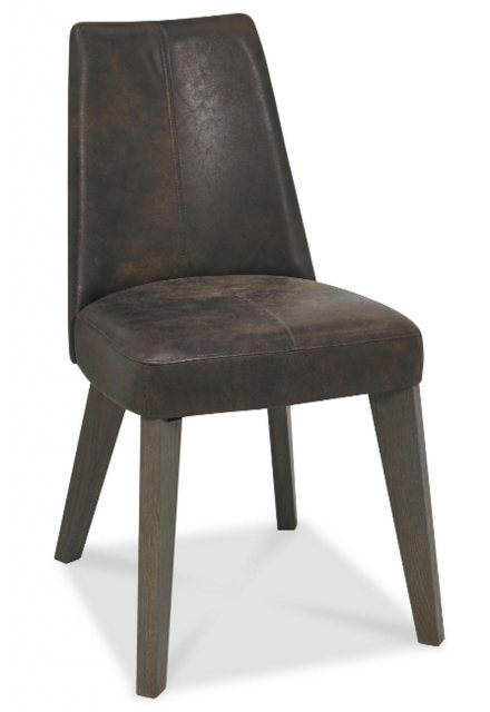 Bentley Designs Bentley Design Cadell Aged Oak Upholstered Dining Chair
